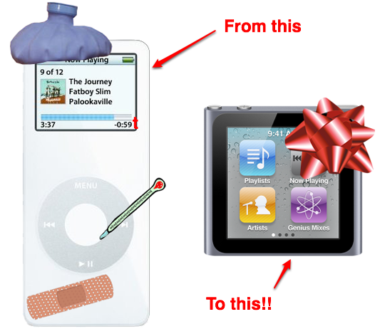 Data recovery ipod classic