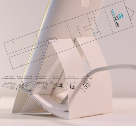 Never buy another iPhone dock again with this origami dock