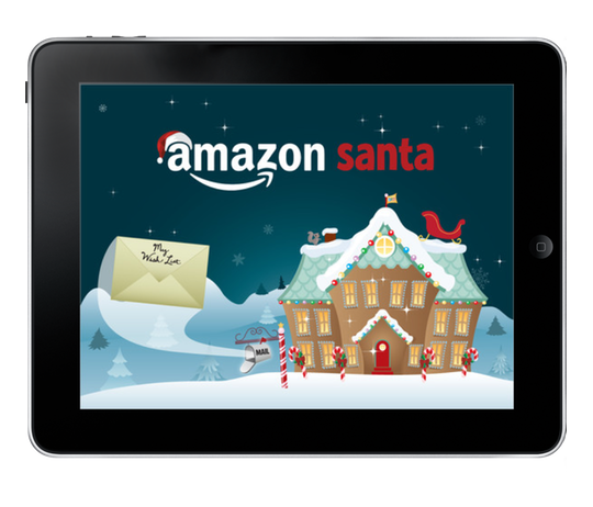 tis the season for holiday shopping and amazon has a gift for all of you hotsy totsy ipad users the amazon santa app allows kids to make a wish list of - Amazon Christmas List