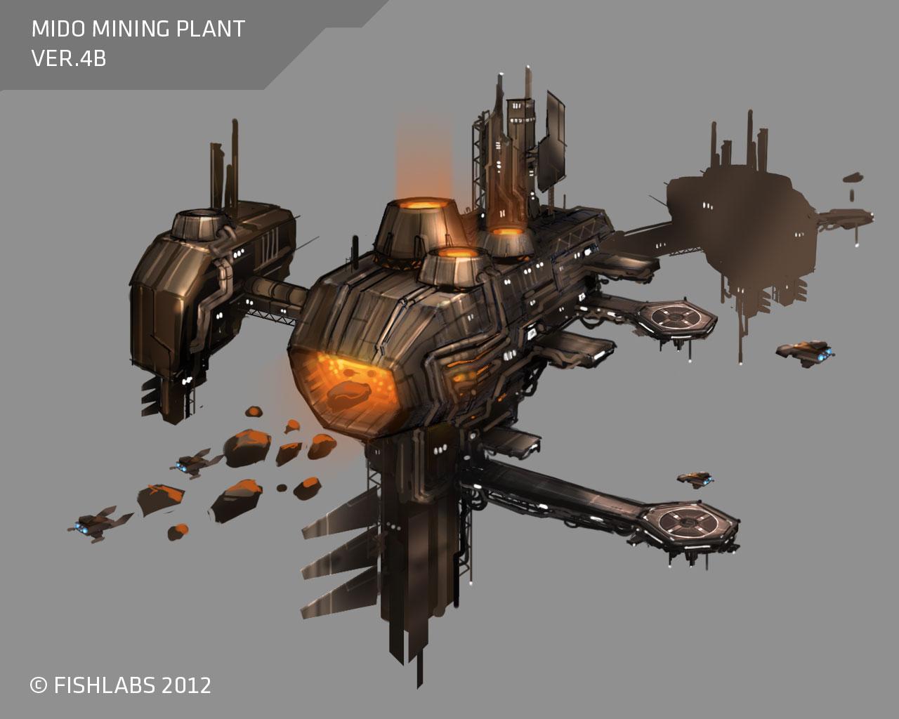 Fishlabs GoF2 Supernova - Mining Ship Mido