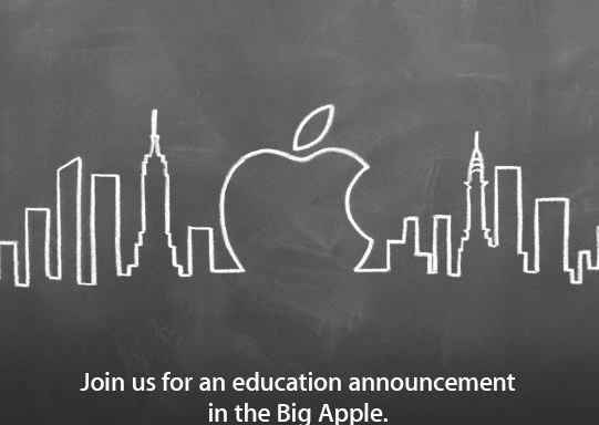 Apple officially announces New York education event