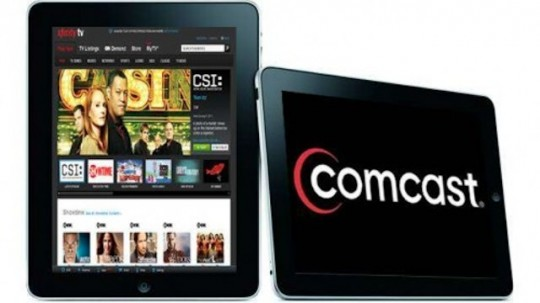 Comcast rolls out AnyPlay live TV streaming for iPad users