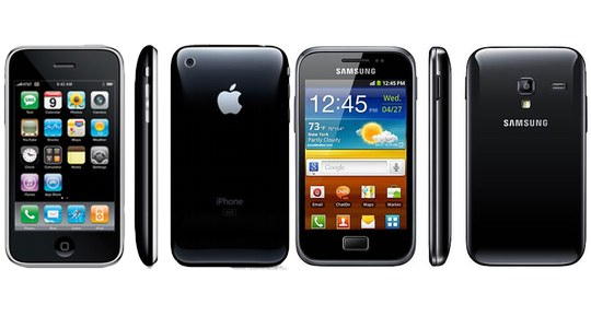 Samsung shamelessly steals the iPhone 3G design, again