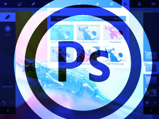 Adobe Photoshop Touch now officially available