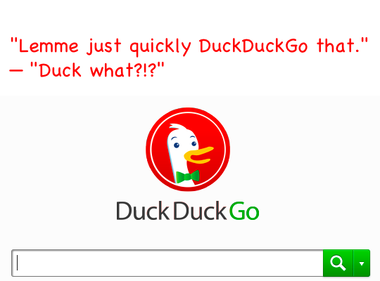 Search DuckDuckGo from Safaris address bar in OS X