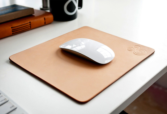 Ugmonk releases premium leather mousepads