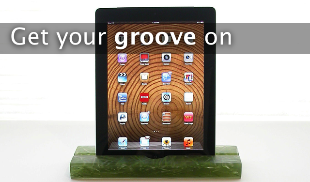 Get Your Groove On With This iPad Stand