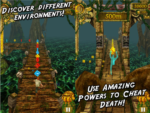 Temple Run Hits 100 Million Downloads, Keeps On Running