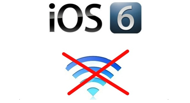 Tip: How To Fix Apple iOS 6 Wi-Fi And Bluetooth Connectivity