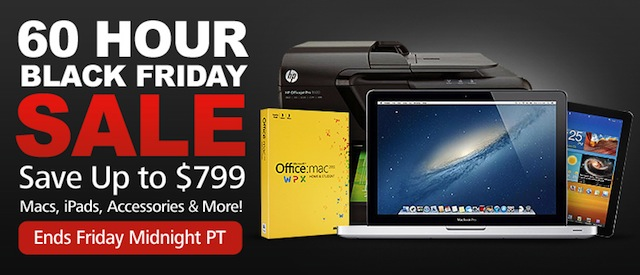 MacMall Kicks Off Black Friday Early With Discounts On Macs, iPads