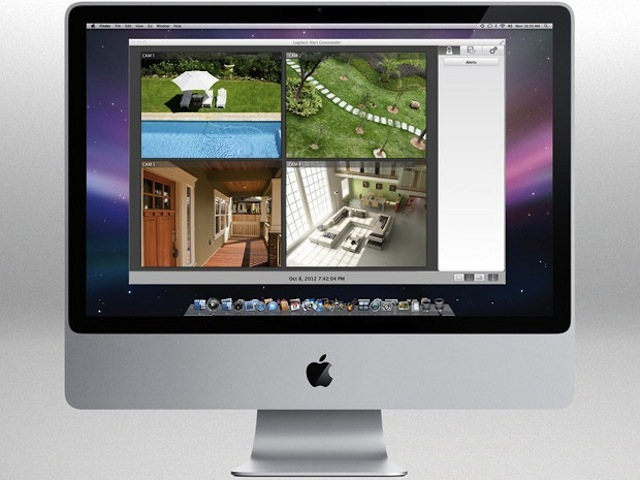 Logitech Alert Security Camera Now Supports Mac OS X