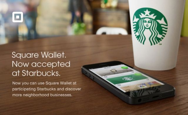 Starbucks Stores Across The US Now Accepting Square Wallet
