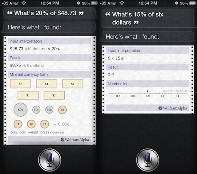 Need A Tip Calculator? You Dont Need An App For That, Just Use Siri