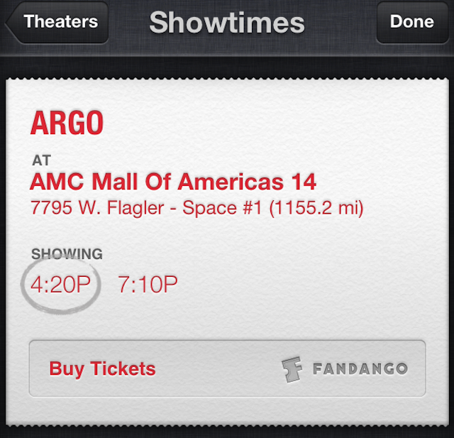 iOS 6.1 Bringing Siri Based Movie Ticket Purchase With Fandango