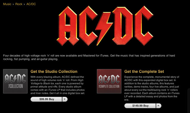 AC/DC Catalog Finally Makes Its Way to iTunes