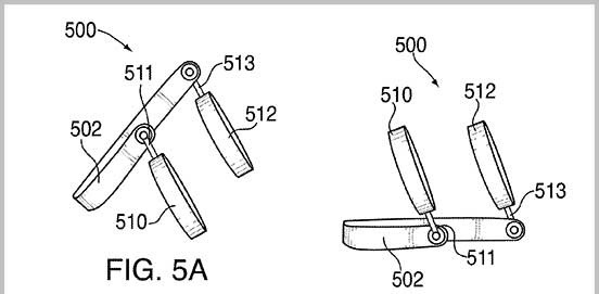 New Apple Patent Illustrates Headphones Doubling As Speakers