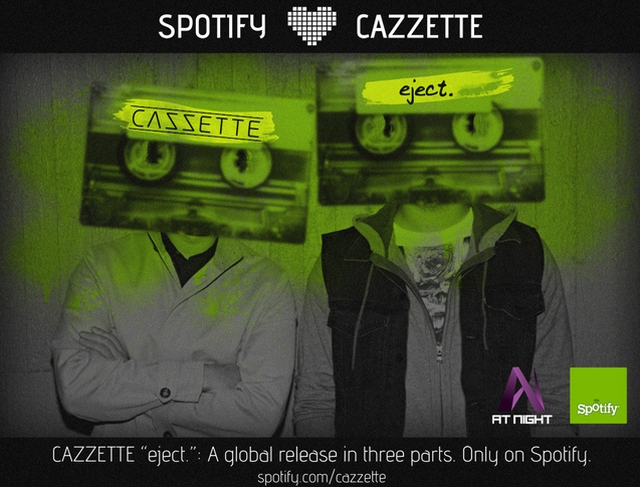 Swedish Duo Cazzette Makes Spotify Exclusive Debut