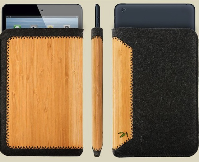Grove Announces A New Wool And Bamboo Sleeve For iPad Mini