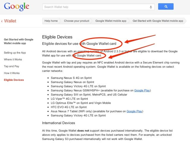 Its Official: Google Wallets Website Points To A Physical Google Wallet Card