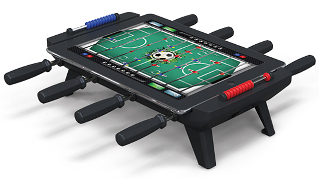 Who Needs A Full Sized Foosball Table When You Can Turn Your iPad Into One?