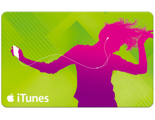Custom Denomination iTunes Gift Cards Now On Sale