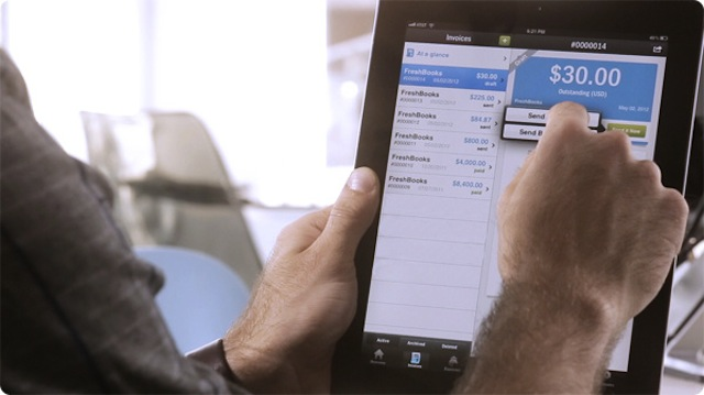 Popular Accounting App, Freshbooks, Now On The iPad