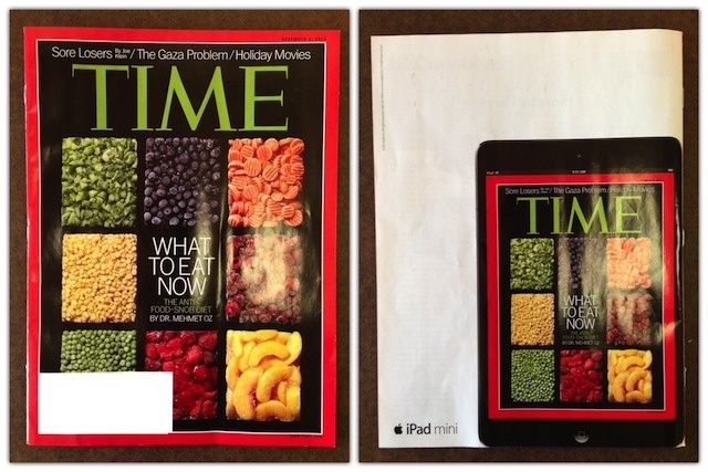 Apple Nails It With Latest Time Magazine Ad
