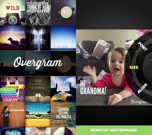 Over Launches Overgram — A Free Version Of Its Add Text To Photos App