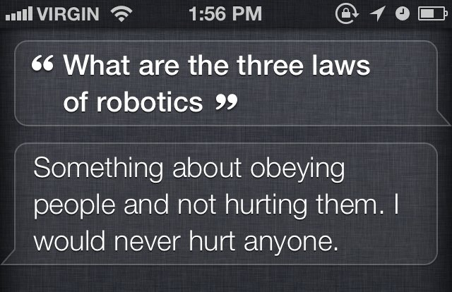 Funny: Warning, Siri May One Day Kill You