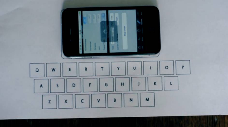 Hey Apple! This Student Made Vibrative Virtual Keyboard For The iPhone Is Awesome!