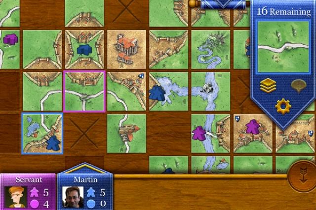 Carcassonne iOS Image