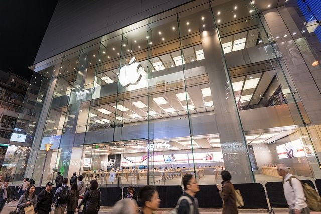 First Look At Apples New Hong Kong Apple Store, Featuring 30 Foot Glass Wall