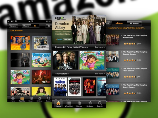Amazon Instant Video Now Available For iPhone And iPod Touch