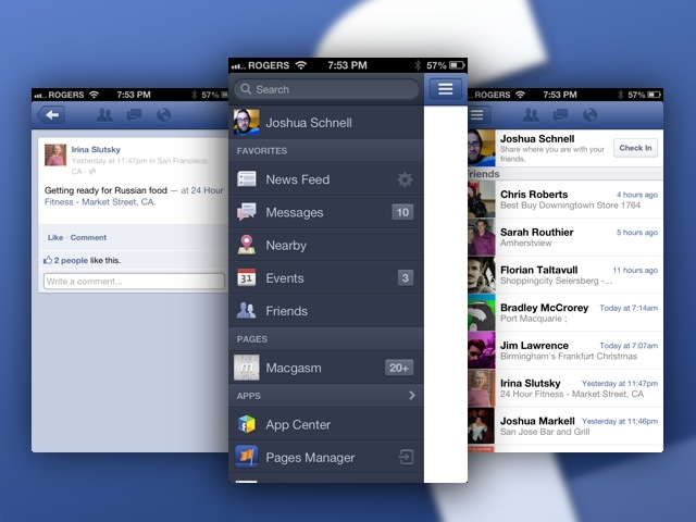 Facebook To Push Nearby Update To iOS, Android Devices