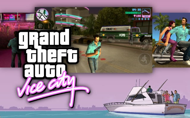 Rockstar Rolls Out Grand Theft Auto:Vice City For iOS