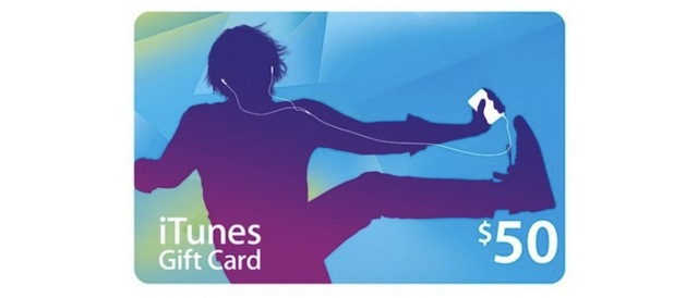 Hurry Up, Get A $50 iTunes Gift Card For $40