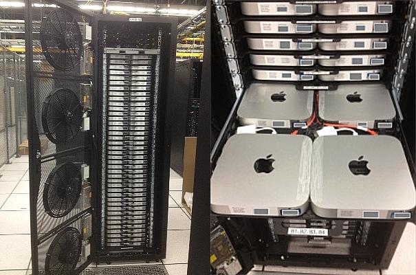 Nerdery: Heres What A Rack Of 160 Mac Minis Looks Like