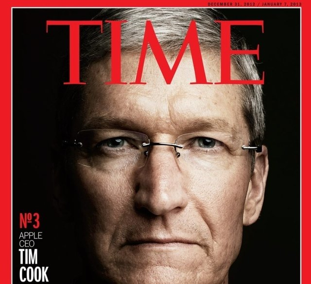 Tim Cook Finishes In 3rd For TIME Person Of The Year