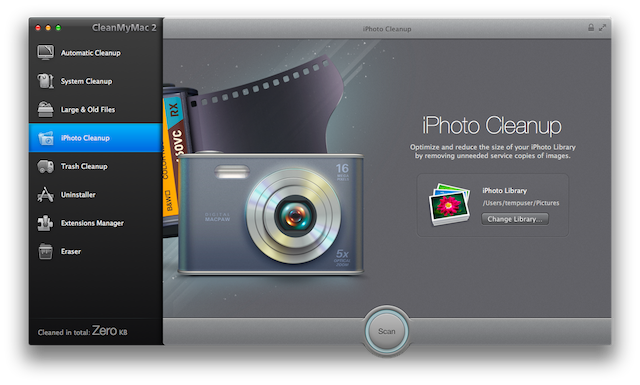 15. iPhoto Cleanup