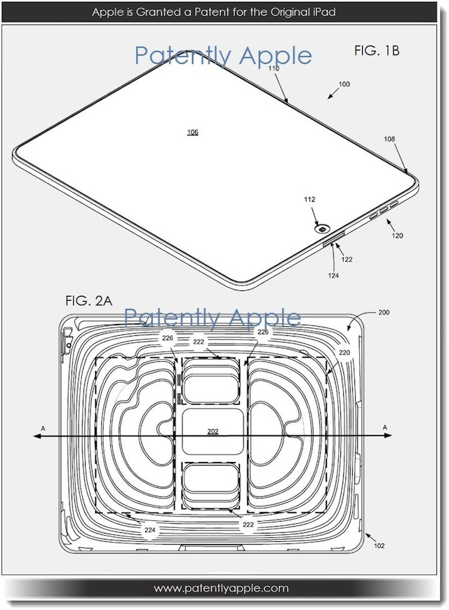 Apple Granted Original iPad, Smart Cover Patents