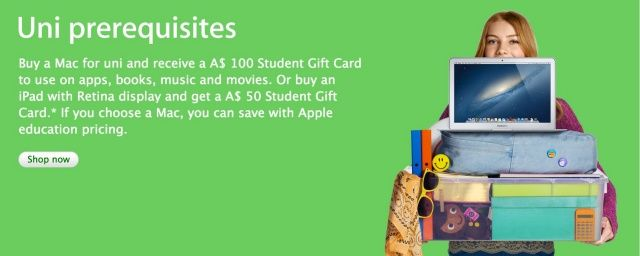 Apple Launches Back To School Promotion In Australia And New Zealand