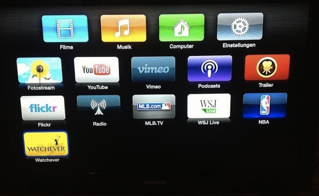 Apple Adds Watchever To Apple TV In Germany, A TV And Movie Subscription Service