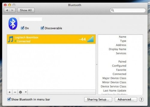Bluetooth-Strength-Mac