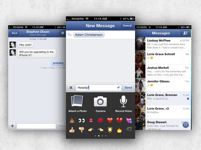 Facebook To Announce Messenger iPad App Tuesday?