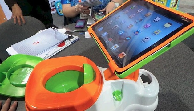 Ipotty Announced An Ipad Stand For Pooping Children