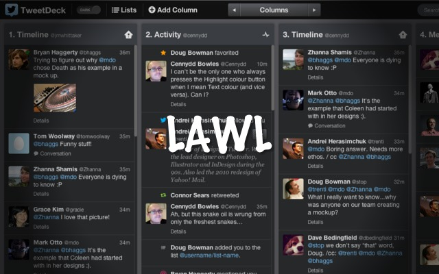 Looks Like Twitter Hasnt Given Up On Tweetdeck After All, Gives It Some Love… Barely