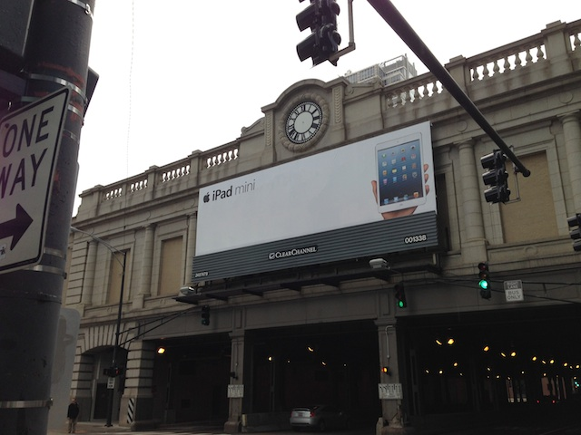iPad mini Billboard Chicago