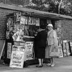 news_stand_embankment_-_1950's