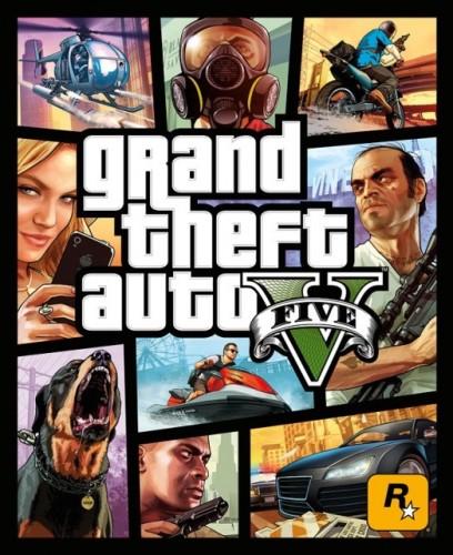 GTA 5 Box Art Revealed, Looks Like Grand Theft Auto