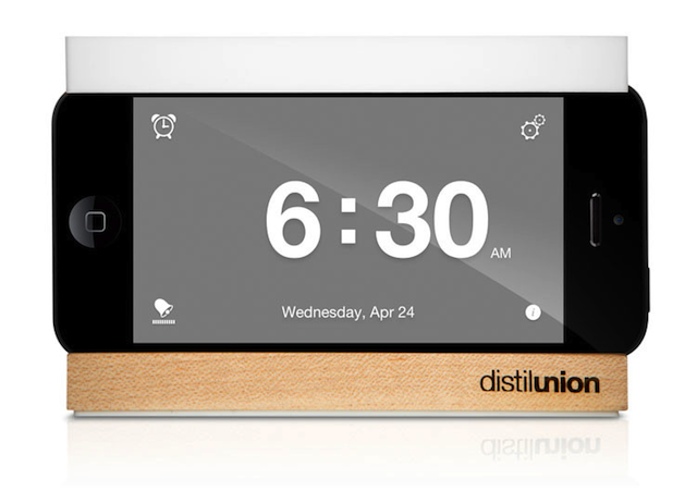 promo code 1ed2c cc90d The Snooze Dock: An Alarm Clock Stand For Your iPhone